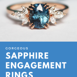 12 Gorgeous Sapphire Engagement Rings