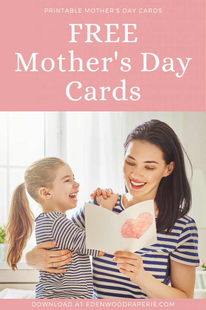 Free Mother's Day Cards Pin